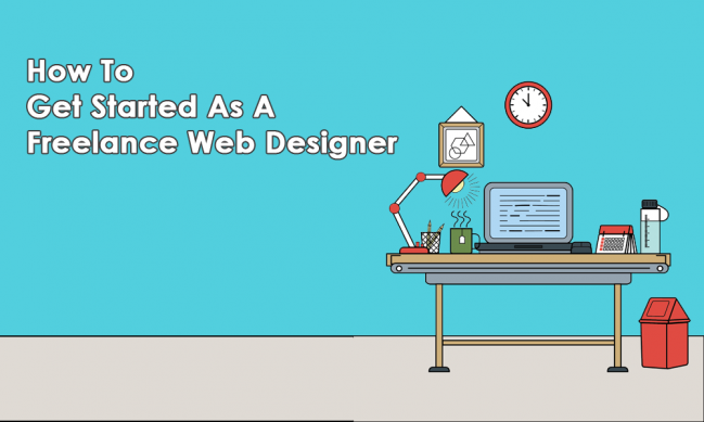 how to get started as freelance web designer