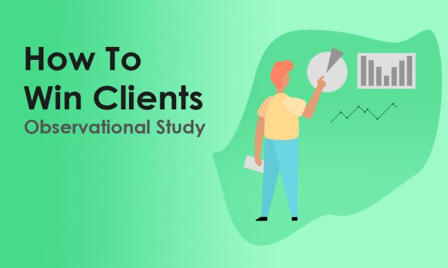 how to win clients case study