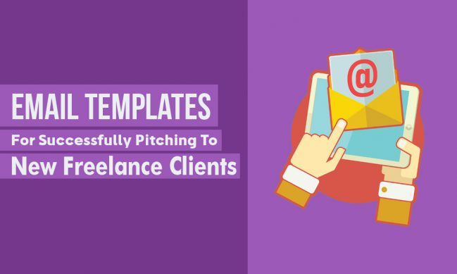 5 email templates you can use to pitch to new clients