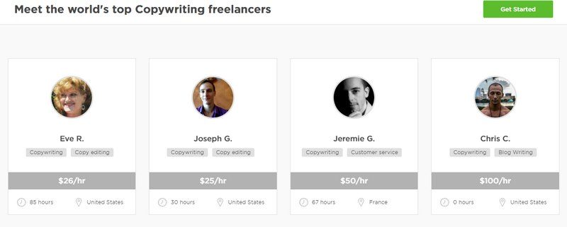 highest paying lance jobs for earning a steady income copywriting lancers