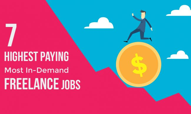 highest paying lance jobs for earning a steady income