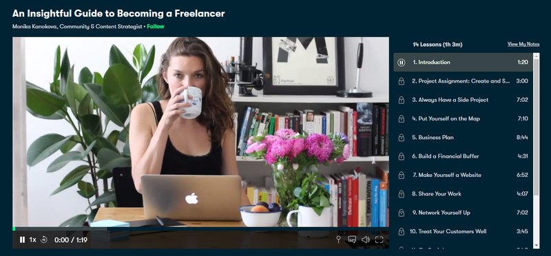 insightful guide to freelancing