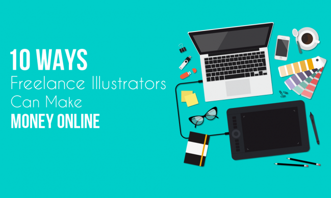10-ways-illustrators-can-make-money-online
