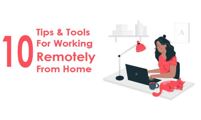 tips for working remotely from home