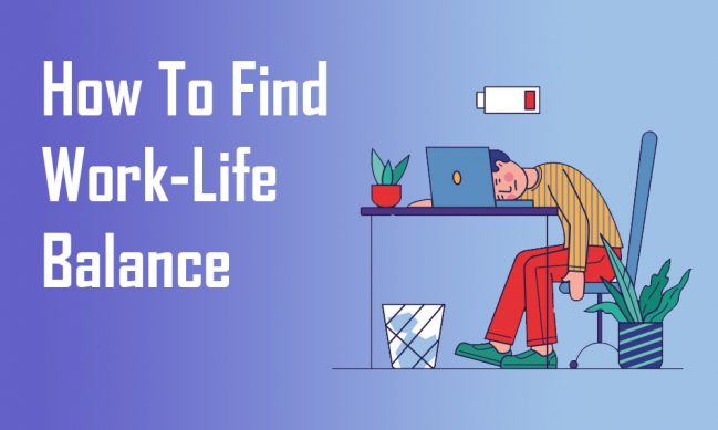how to find work life blance