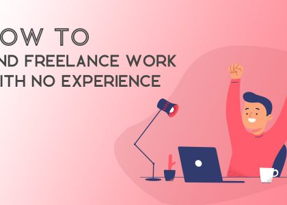 find freelance work with no experience